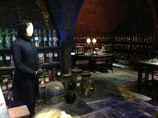Visite des studios harry potter londres poulette blog for Salle a manger harry potter