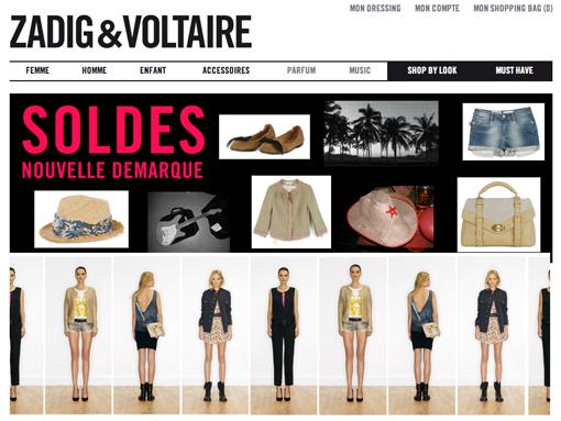Eshop Zadig et Voltaire par Poulette Blog