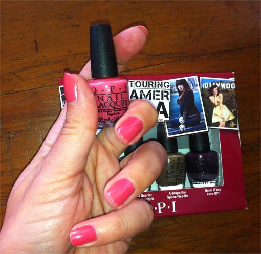 Coffret OPI Touring America - PouletteBlog