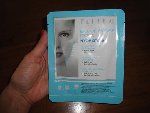 Mon coup de pouce hydratation : le masque Talika - PouletteBlog