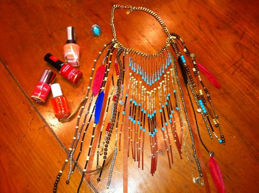 En mode Pocahontas - Poulette Blog