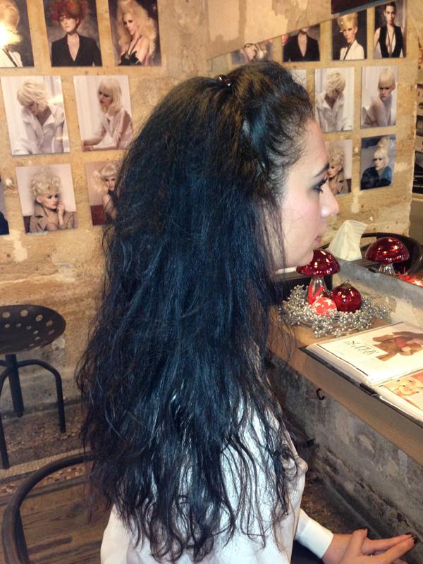 dcoloration sur cheveux noirs - Coloration Sur Cheveux Noir