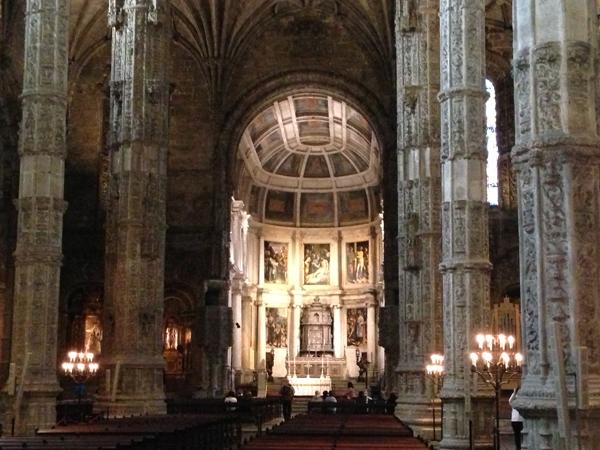 Mosteiro Jeronimos Lisbonne