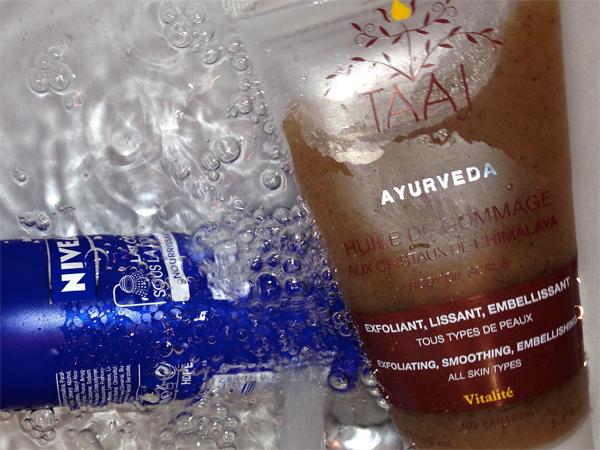 Une peau douce sous la douche avec TAAJ et Nivea - Poulette Blog