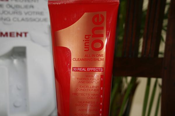 Shampooing, soin, démêlant... le baume Uniq One fait TOUT ! - Poulette Blog