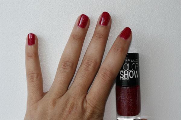 les vernis ongles gemey maybelline font leur show - Vernis Color Show