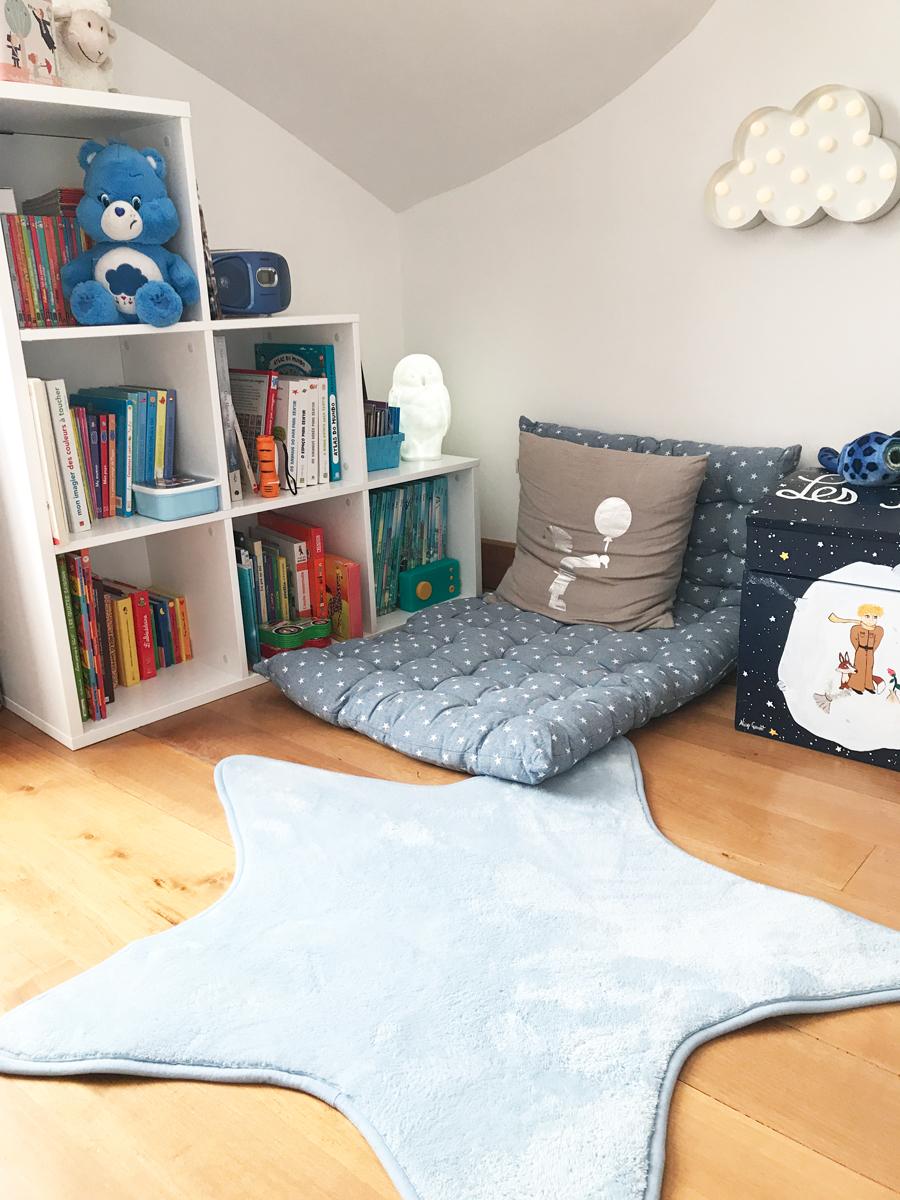 Aménager un petit coin lecture pour les enfants - Poulette Blog