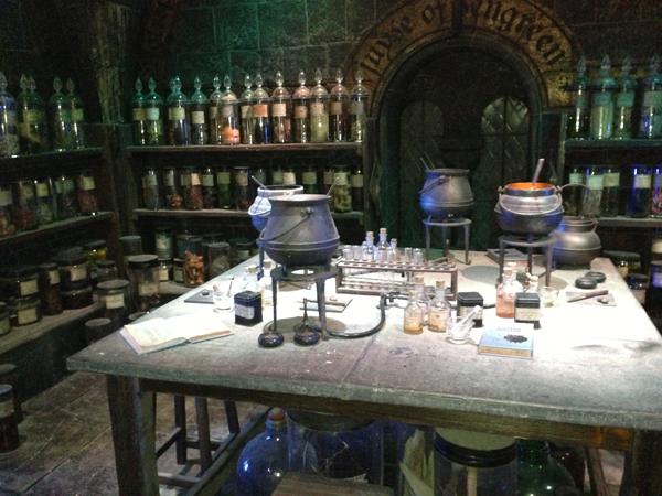 Decor Harry Potter Londres