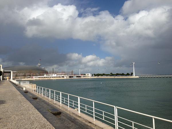 Parque das Naçoes Lisbonne