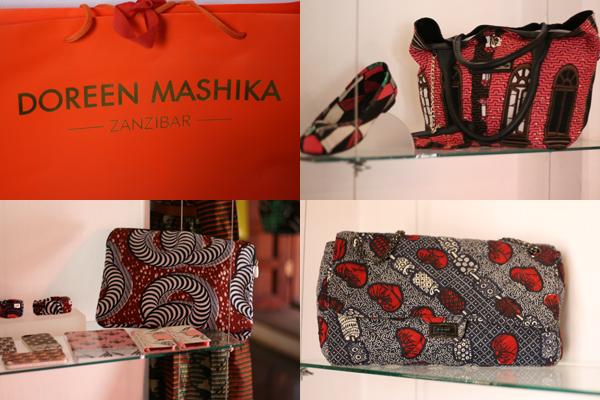 Stone Town, la capitale de Zanzibar, boutique de Doreen Mashika - Poulette Blog