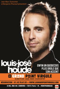 Gagne tes places pour Louis José Houde, le Gad Elmaleh québécois !! [concours] - PouletteBlog