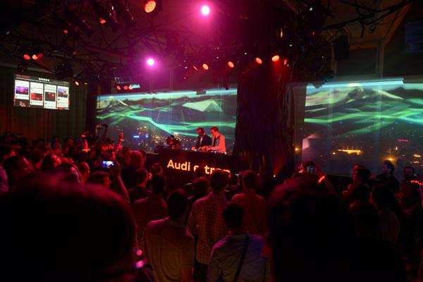 Quand Audi fête l'électro avec une soirée de feu ! - Poulette Blog