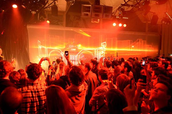 4Quand Audi fête l'électro avec une soirée de feu ! - Poulette Blog