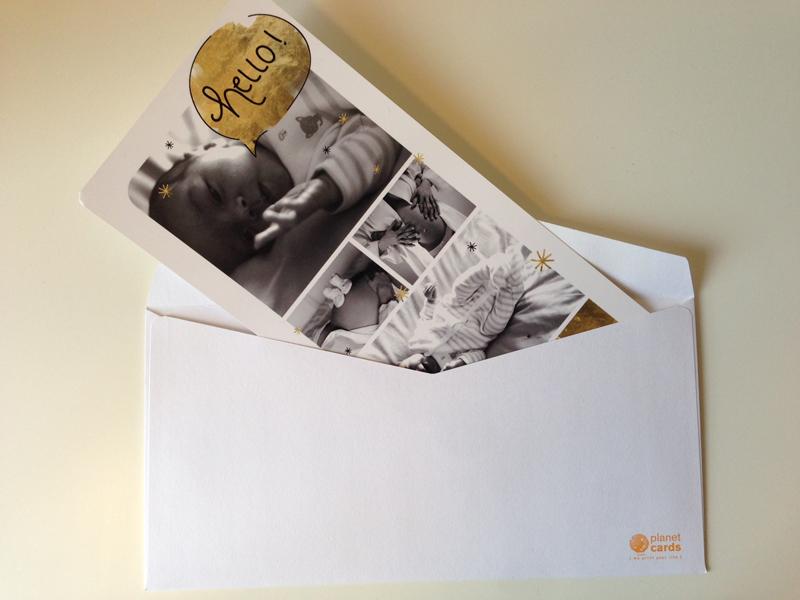 Avec Planet Cards, on prévient la planète de l'arrivée de Marcel ! - Poulette Blog