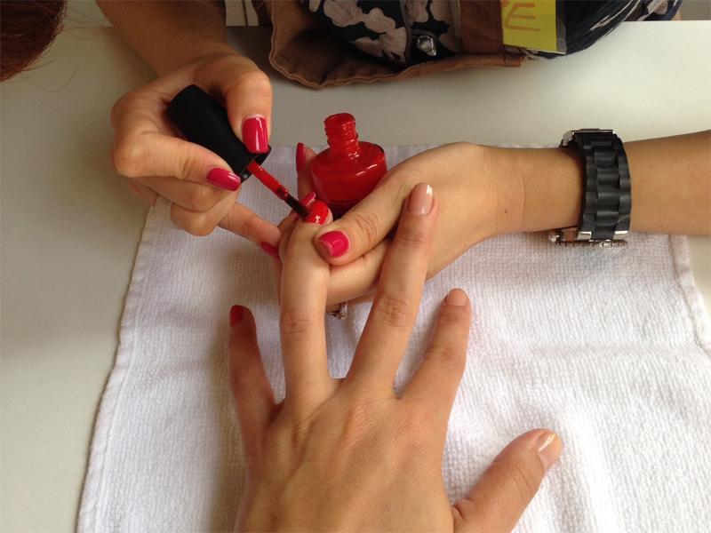Chez Lanqi on sait aussi prendre soin de mes mains et de mes pieds ! - Poulette Blog