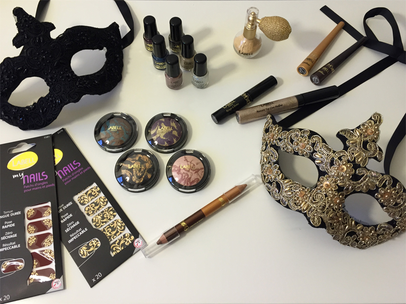 Maquillage et paillettes pour les fêtes avec Labell Paris [concours] - Poulette Blog