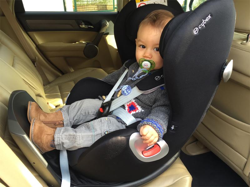 Sirona de Cybex, le parfait siège auto de bébé ! - Poulette Blog
