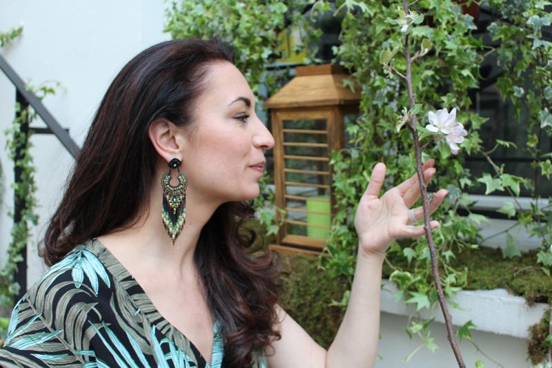 Look nature pour la Poulette Green Party - Poulette Blog