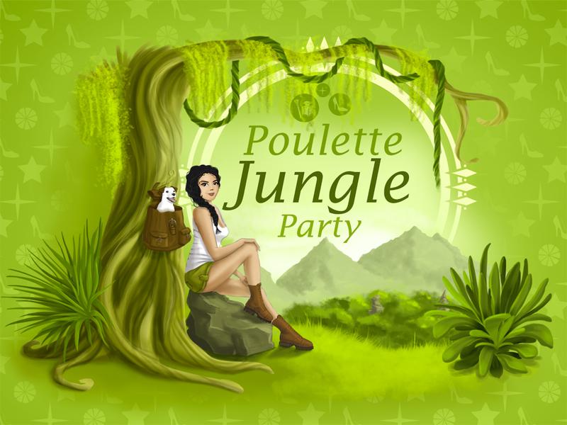 Poulette Jungle Party